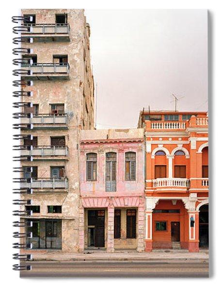 Malecon In Havana Spiral Notebook
