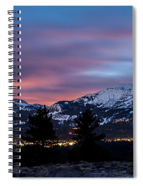 Mammoth At Night Spiral Notebook
