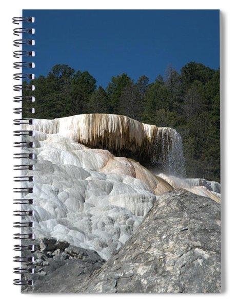 Mammoth Hot Springs 1 Spiral Notebook