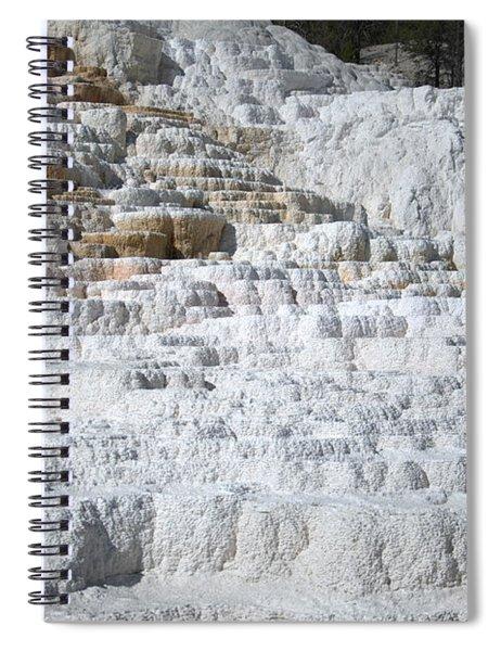 Mammoth Hotsprings 3 Spiral Notebook