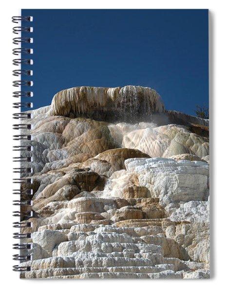 Mammoth Hotsprings 4 Spiral Notebook