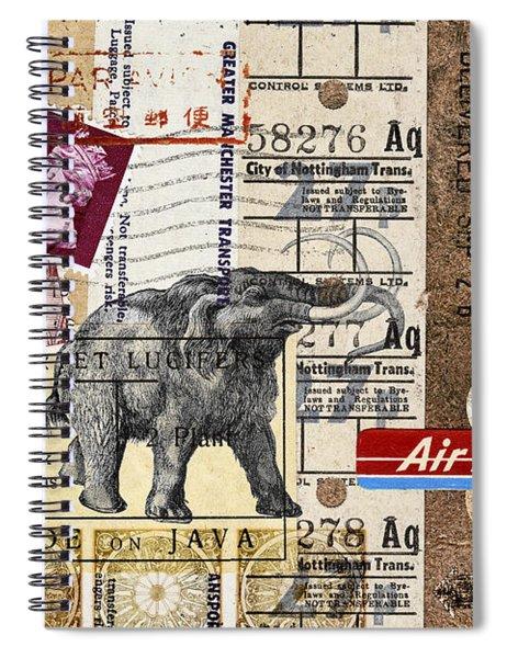 Mammoth Mail Spiral Notebook