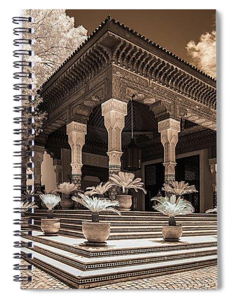 Mamounia Hotel In Marrakech Spiral Notebook