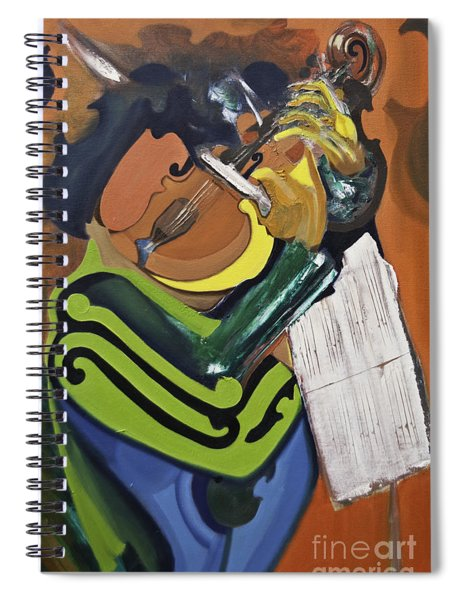 The Violinist Spiral Notebook