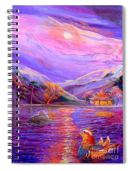 Mandarin Dream Spiral Notebook