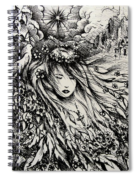 Mandee's Dream Spiral Notebook