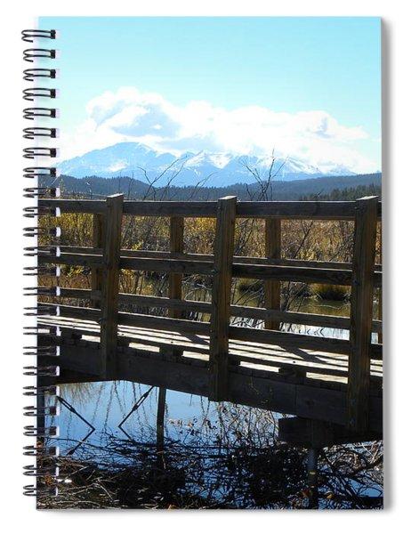 Lake Manitou Sp Woodland Park Co Spiral Notebook