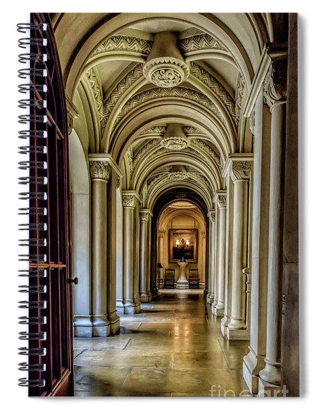 Mansion Hallway Spiral Notebook
