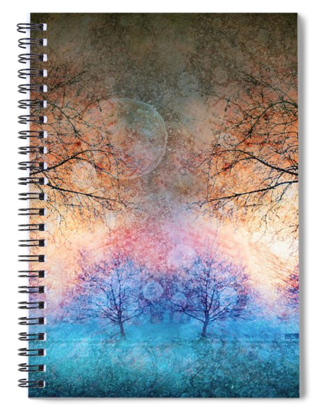 Many Moons Spiral Notebook