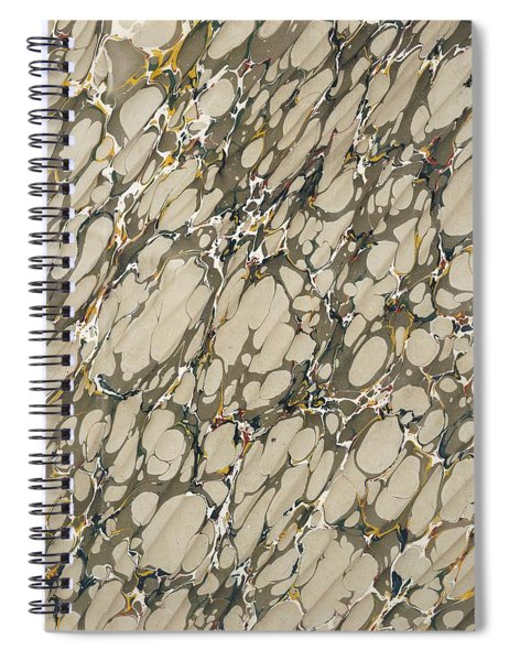 Marble Endpaper Spiral Notebook