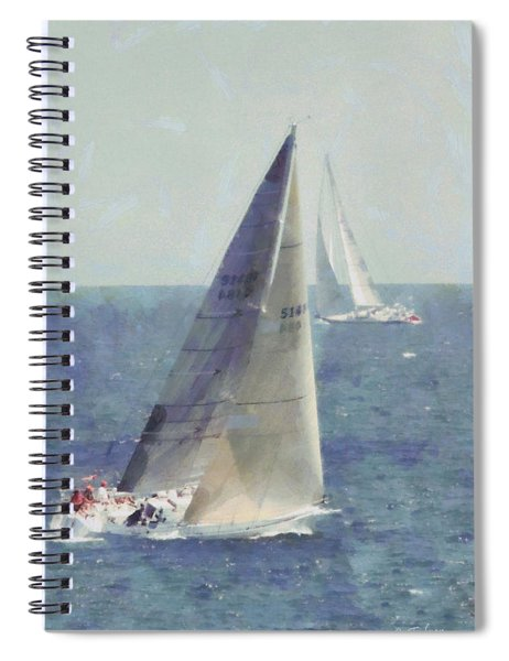 Marblehead To Halifax Ocean Race Spiral Notebook