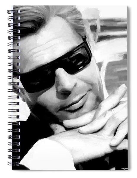 Marcello Mastroianni Portrait Spiral Notebook