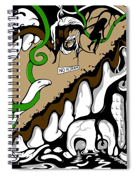 March On Spiral Notebook