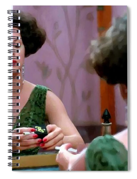 Marcia Gay Harden As Verna Bernbaum In The Film Miller S Crossing By Joel And Ethan Coen Spiral Notebook