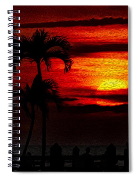 Marco Island Sunset 59 Spiral Notebook