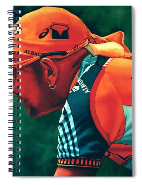 Marco Pantani 2 Spiral Notebook