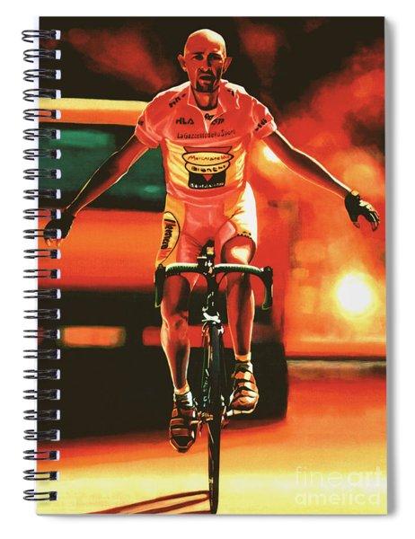 Marco Pantani Spiral Notebook