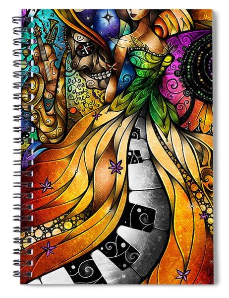 Mardi Gras 2014 Spiral Notebook