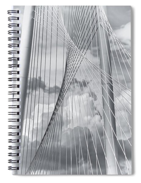 Margaret Hunt Hill Bridge Spiral Notebook