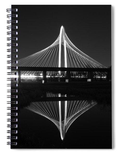 Margaret Hunt Hill Bridge Reflection Spiral Notebook