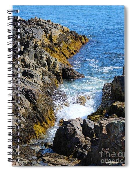 Marginal Way Crevice Spiral Notebook