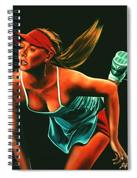 Maria Sharapova  Spiral Notebook