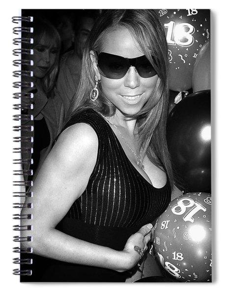 Mariah Carey Spiral Notebook