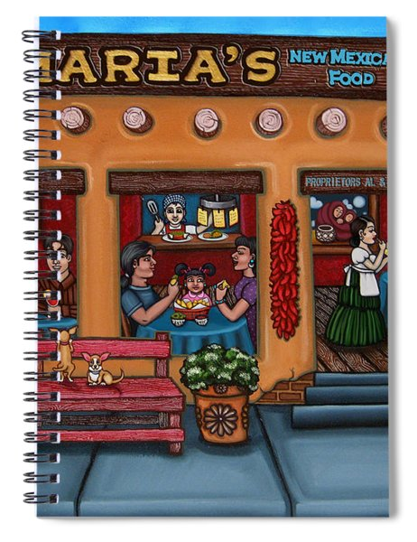 Maria's New Mexican Restaurant Spiral Notebook