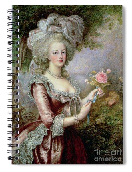 Marie Antoinette After Vigee Lebrun Spiral Notebook