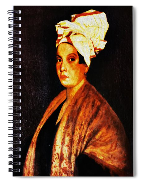 Marie Laveau - New Orleans Witch Spiral Notebook