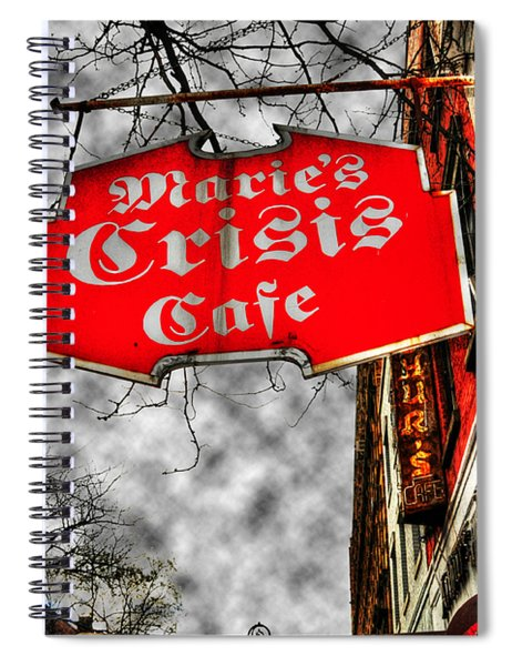 Marie's Crisis Cafe Spiral Notebook