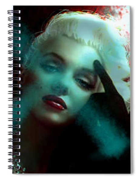 Marilyn 128 Tryp  Spiral Notebook