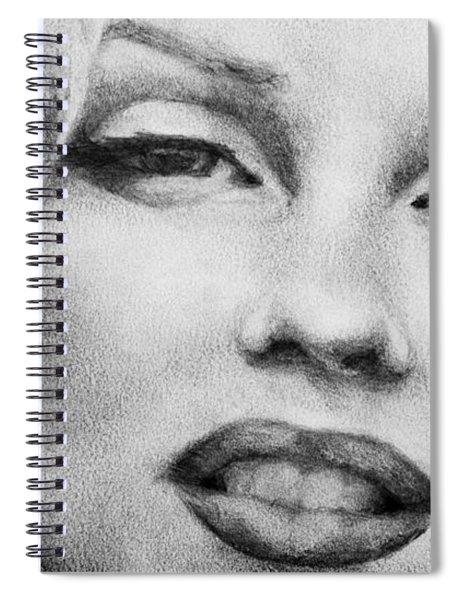 Marilyn Monroe - Close Up Spiral Notebook
