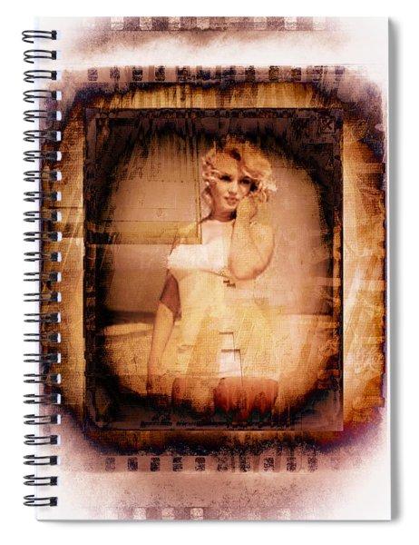 Marilyn Monroe Film Spiral Notebook