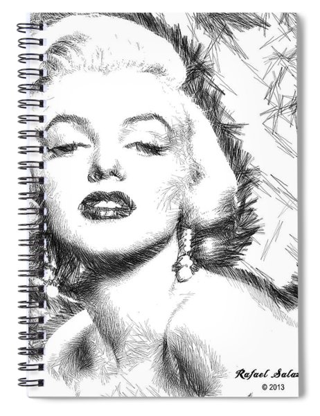 Marilyn Monroe - The One And Only  Spiral Notebook