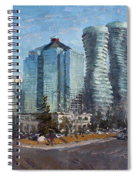 Marilyn Monroe Towers Spiral Notebook