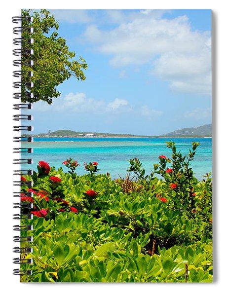 Marina Cay Dock Spiral Notebook