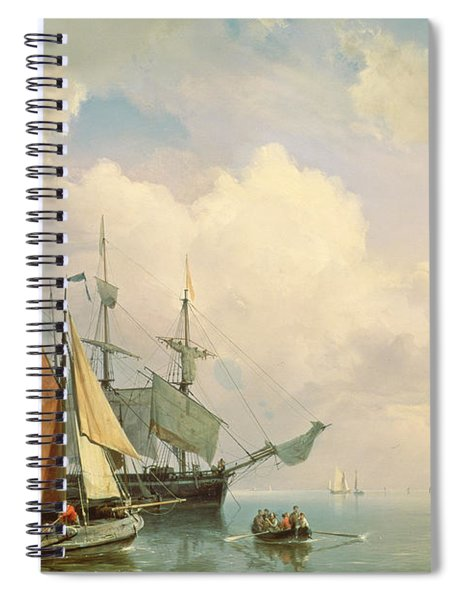 Marine  Spiral Notebook
