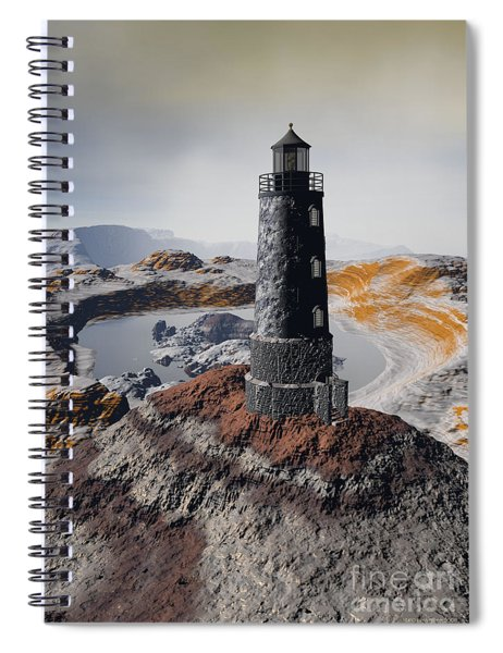 Marine Memory - Surrealism Spiral Notebook