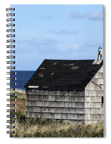 Maritime Cottage Spiral Notebook
