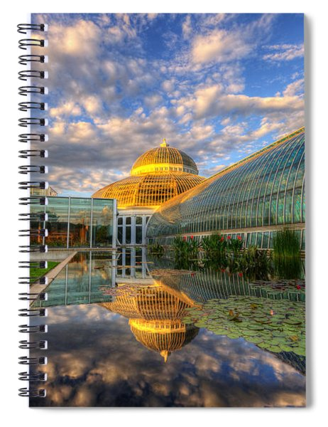 Marjorie Mcneely Conservatory Evening  Spiral Notebook