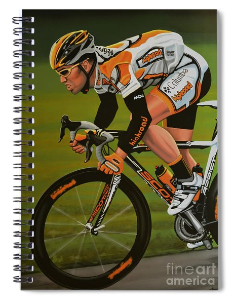 Mark Cavendish Spiral Notebook