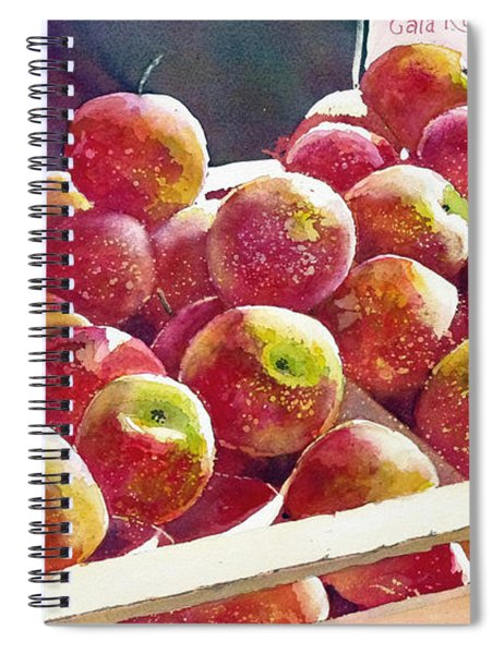 Market Apples Spiral Notebook