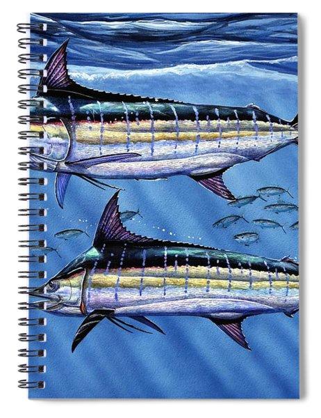 Marlins Twins Spiral Notebook