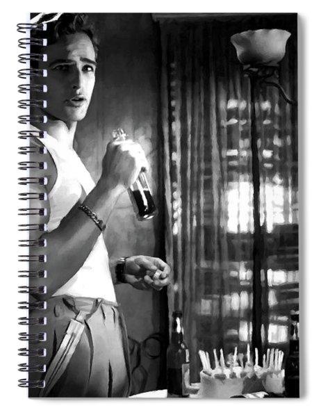 Marlon Brando @ A Streetcar Named Desire Spiral Notebook