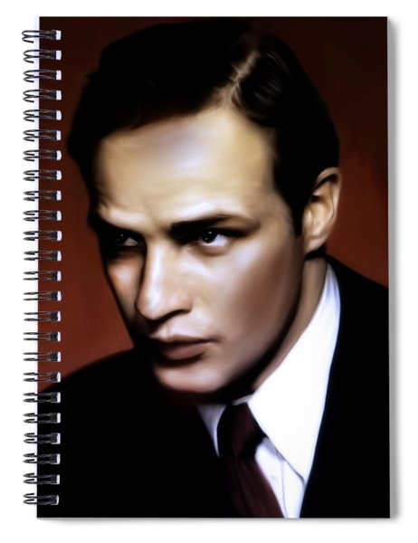 Marlon Brando Tribute Spiral Notebook