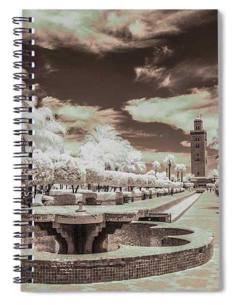 Marrakech - La Koutoubia Spiral Notebook