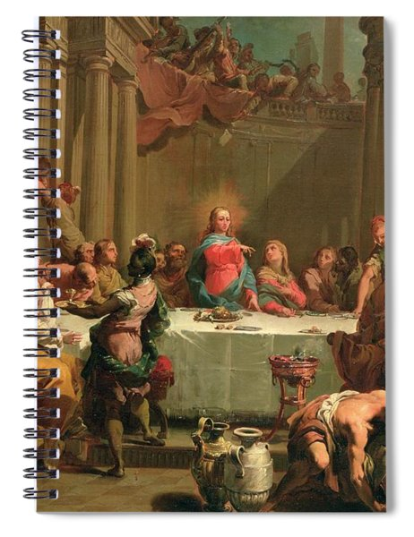 Marriage Feast At Cana Spiral Notebook