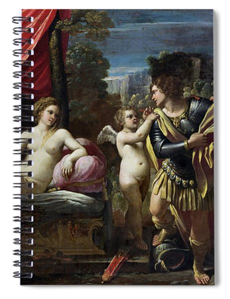 Mars And Venus Spiral Notebook