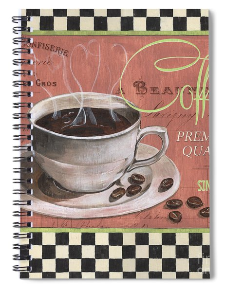 Marsala Coffee 1 Spiral Notebook by Debbie DeWitt
